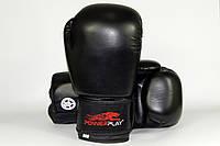 Боксерские перчатки из синтетической кожи на липучке
