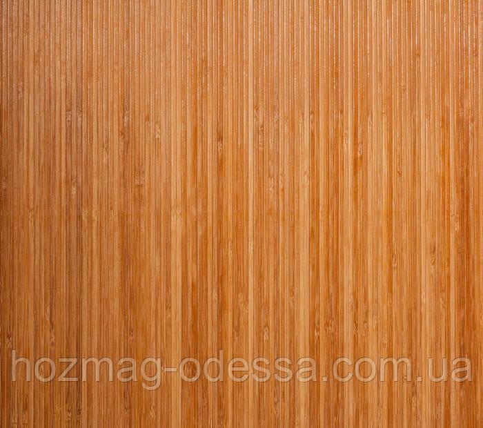 Бамбуковые обои темные 8мм, ширина 90см.