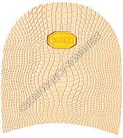Набойка резиновая мужская BISSELL, art.RB61B, цв. бежевый (желтый лого)