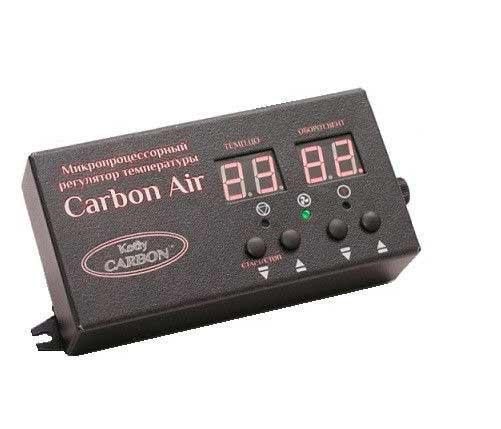 Комплект автоматики Carbon Air и ветилятор KG Elektronic DP-02