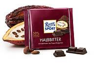 Черный шоколад Ritter Sport Halbbitter