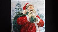 "Салфетка трехслойная для декупажа ""Дед Мороз"", 8"
