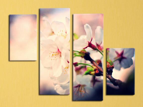 "Модульная картина ""Сакура цветет"", фото 2"