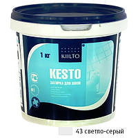 Затирка Kiilto Kesto 43 светло-серая 1кг