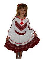 Український костюм вишиванка на дівчинку