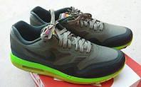 Мужские кроссовки Nike AIR MAX 87 Lunar  WR (Iron Green/Black)  ( 40-45 Размеры)