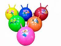 Мяч для фитнеса 466-532 В (60) с рожками, 550г, 55см