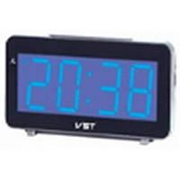 Настольные часы VST-763-5 с синей подсветкой (питание от сети) (75 035)