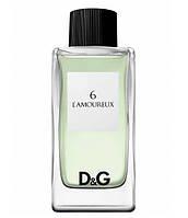 Оригинал D&G 6 L`Amoureux 100ml edt Дольче Габбана Ламорекс (таинственный, смелый, уверенный, привлекательный)