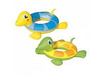 """Детский надувной круг """"Черепаха"""" 36099 Bestway, 2 цвета"""