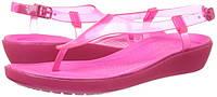 Женские босоножки крокс crocs Women's Really Sexi T-Strap Sandal