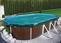 Защитное накрытие для овального каркасного бассейна 7,3 х 3,7м