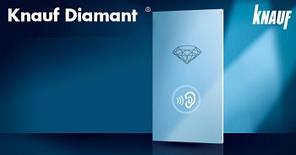 Звукоизоляционный гипсокартон Knauf Diamant (Titan) 1,2м.*2,5м.*12,5мм.