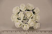 Роза мелкая искусственная белая (букет) 5632-1-3-1