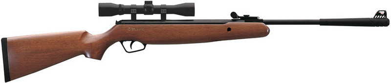 Гвинтівка пневматична Stoeger X10 Wood Combo з оптичним прицілом
