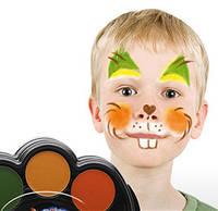 Краска-грим для лица Jovi 6 цветов на палитре, (196)