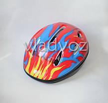 Детский шлем велосипедный для роликов велошлем №5, фото 3
