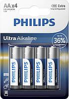 Батарейка PHILIPS ULTRA Alcaline AA/LR6