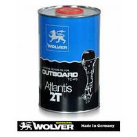 Масло для лодочных моторов WOLWER Atlantis 2T( Германия)