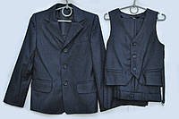 Школьный костюм 3-ка для мальчика.Украина.(122-146р), фото 1