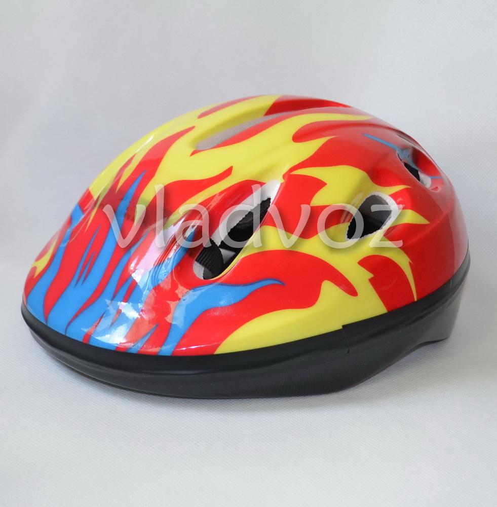 Детский шлем велосипедный для роликов велошлем №3