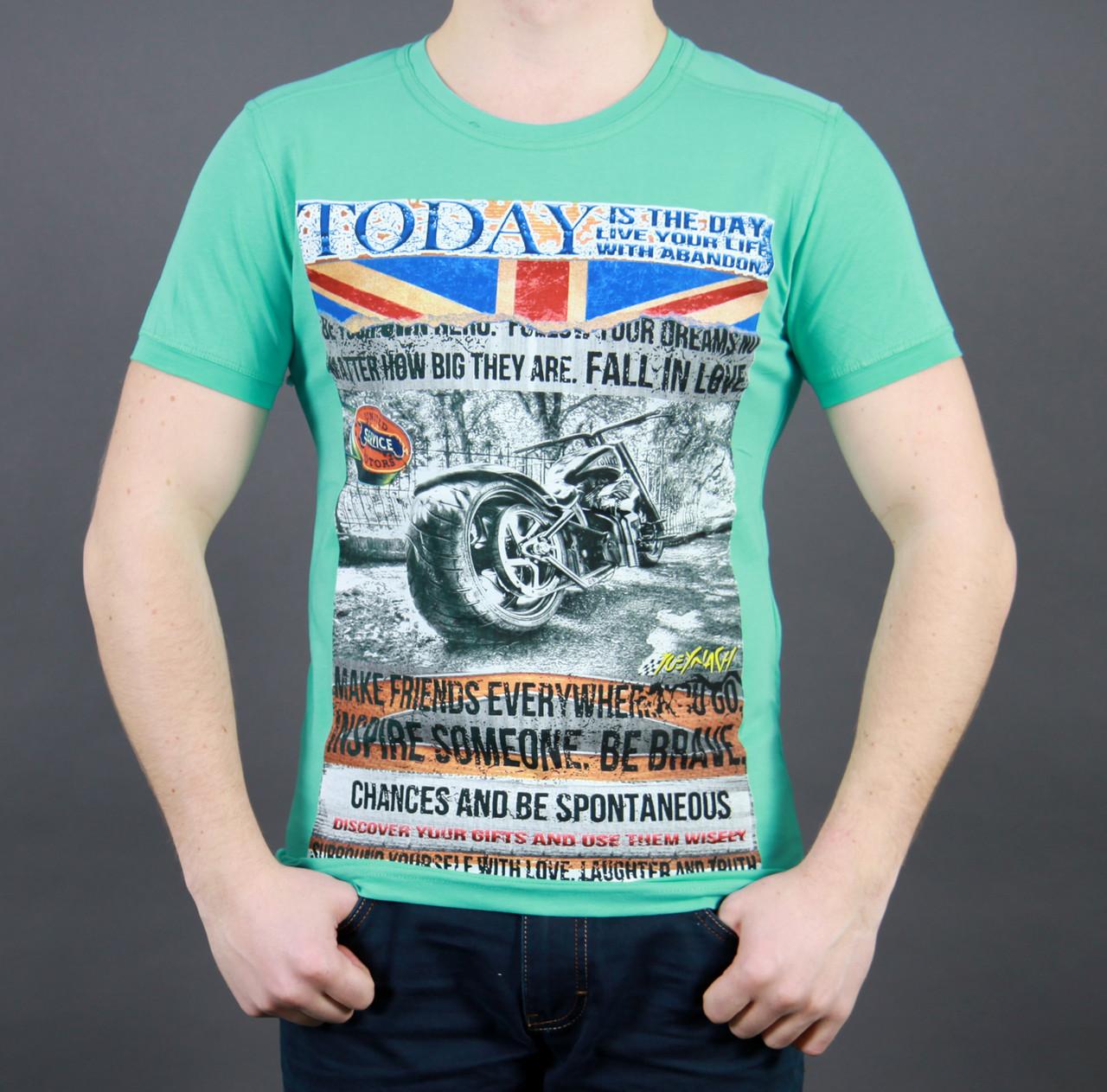 66ffe0e6b48 Прикольная мужская летняя футболка - купить по лучшей цене в ...