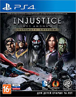 Игра Injustice: Gods Among Us Ultimate Edition (PS4, русские субтитры)