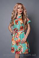 Женское легкое летнее платье размеры 46-48,48-50,50-52