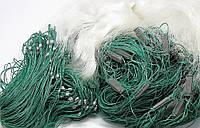 Рыболовная сеть 1.8х100м. Ячейка 20 Одностенка ( Дробинка ) для промышленного лова