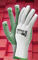Перчатки рабочие с ПВХ покрытием RNYDO, фото 1