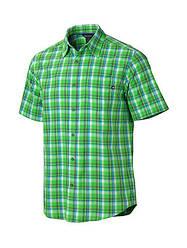 Короткая мужская рубашка Marmot Alder Plaid SS