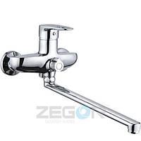 Смеситель для ванны Zegor Z63-NGB-A185