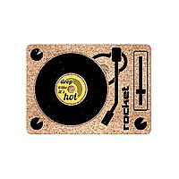 Подставка под горячее, поднос и костер 3 в 1 DJ Three-vet Rocketdesign
