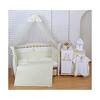 Комплект детского постельного белья на кроватку для новорожденного Panda