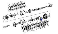 Кольцо предохранительное кпп 0730513610
