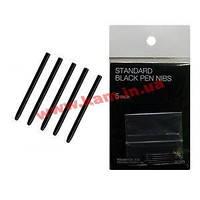 Набор стандатрных наконечников для Intuos4/ 5/ Pro чёрные, 5 шт (ACK-20001)
