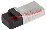 USB накопитель Transcend 16GB JetFlash 880, OTG, USB 3.0, Metal (TS16GJF880S)