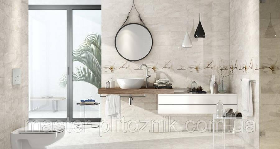 Плитка облицовочная для ванной Stone Flowers Opoczno