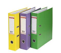 Папки-регистраторы и папки на кольцах