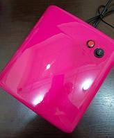 УФ лампа для ногтей лаковая с зеркальным покрытием 36W