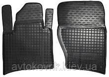 Поліуретанові передні килимки в салон Volkswagen Touareg II 2011- (AVTO-GUMM)