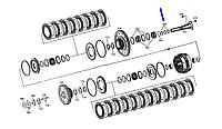 Кольцо уплотнительное кпп ( с замокчом) 0734401106