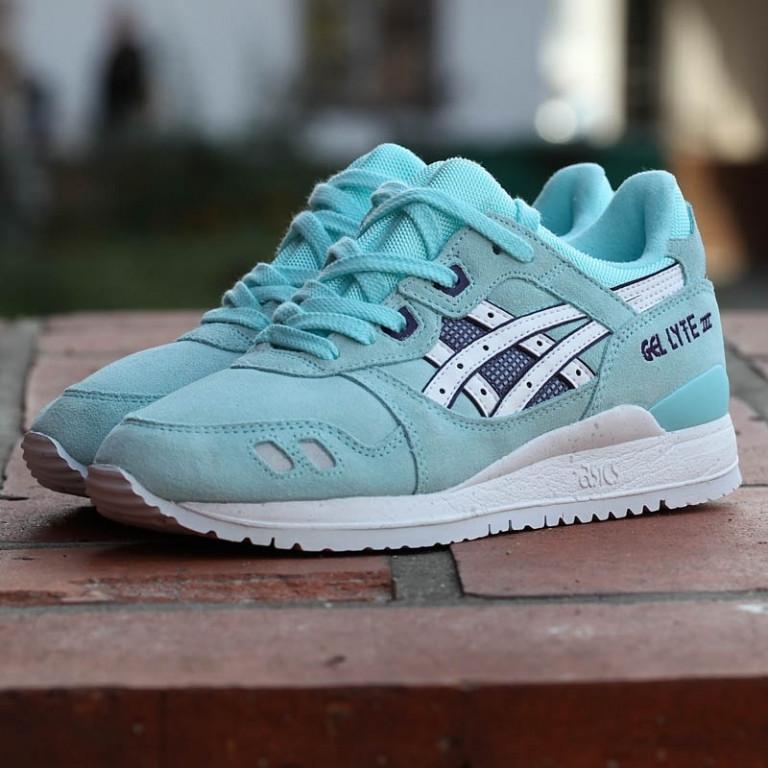 328db0701228 Кроссовки в стиле Asics Gel Lyte III Snowflake женские - Интернет-магазин  «Reverie Shoes