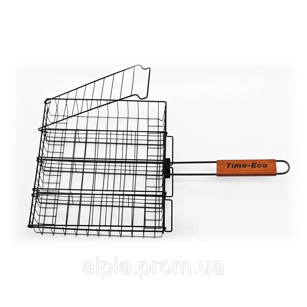 Решетка-гриль с антипригарным покрытием Time Eco 26х31 см
