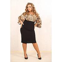 Женское элегантное платье Клеопатра лео размер 50-70  / большого размера