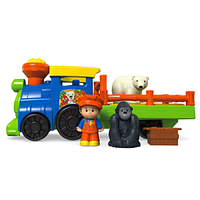 Fisher-Price Little People Choo-Choo Zoo Train. Литл пипл, музыкальный поровозик.