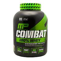 Высококачественный белковый протеин (на основе изолята)  Combat 100% Whey от MusclePharm (2,269 кг, 70 порций)
