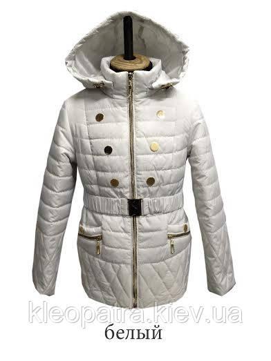 Куртка весенняя для девочки  подростковая