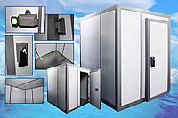 Морозильные камеры сборные для продуктов в Крыму. Доставка, установка.