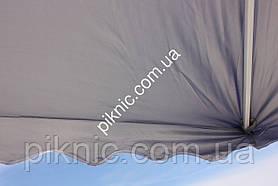 Зонт торговый, садовый 3х3м. Мощный зонт для торговли и летних площадок кафе!, фото 3